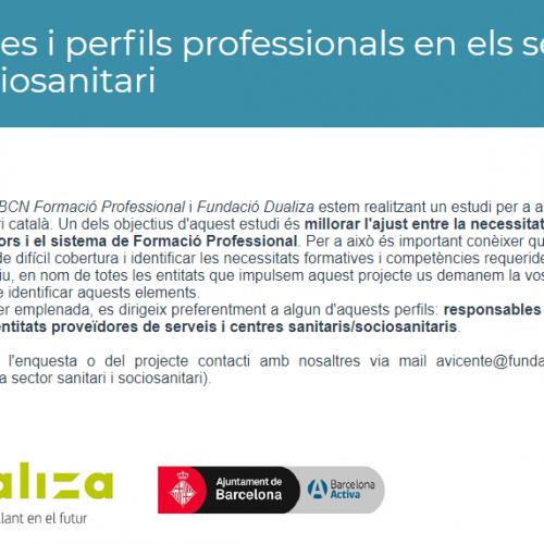 Estudi per a analitzar i detectar necessitats dels sectors sanitari i sociosanitari catalans.